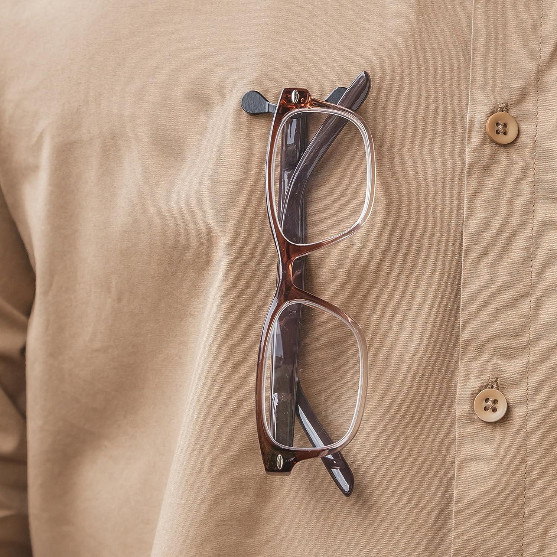 Baoblaze 2 St/ück Magnetischer Brillenhalter Edelstahl Sonnenbrille Brille Sicherheitsbrille Halterung K/öpfh/örerhalter