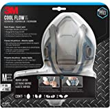 3M 6502QLPA1-A-PS Paint Project Respirator with Quick Latch (1 Pack), Medium