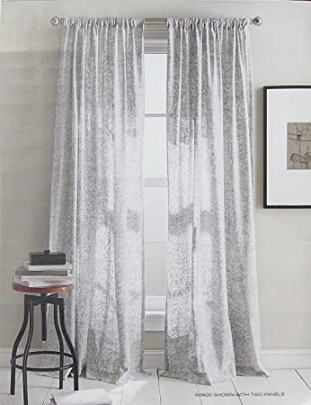 dkny set of 2 extra long window curtains panels 50 by 96inch modern