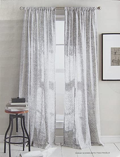 DKNY Set Of 2 Extra Long Window Curtains Panels 50 By 96 Inch Contemporary Modern