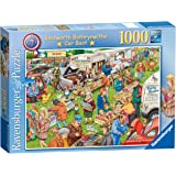 Ravensburger Best of British No.7 - The Car Boot Sale, 1000pc Jigsaw Puzzle