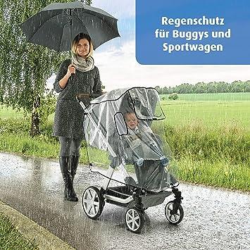 Cape Regenschutz f/ür Kinderwagen Trio nicht inklusive