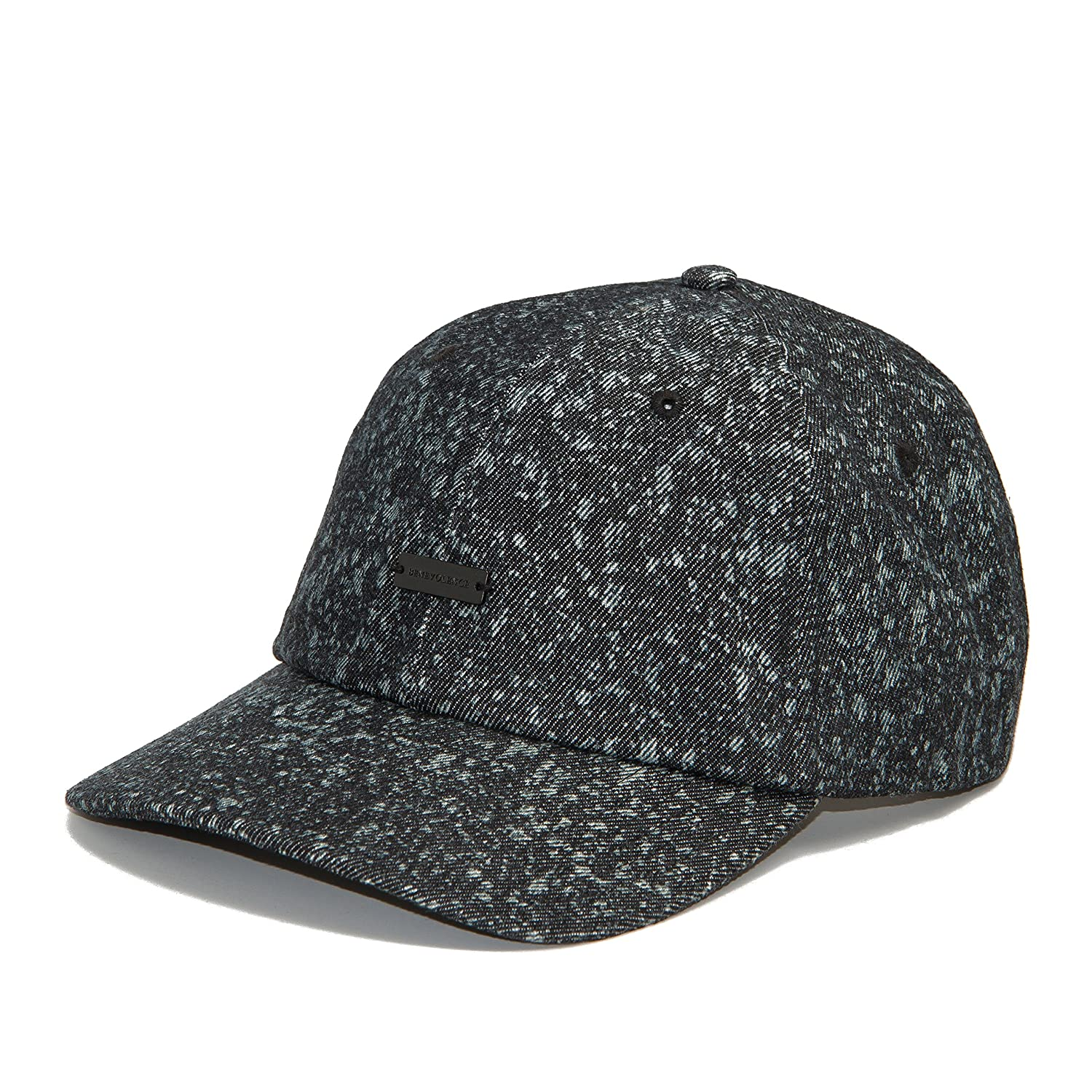5b35aa7600d Amazon.com   BLEACHED 100% COTTON LOOSE DAD CAP BLACK   Sports   Outdoors