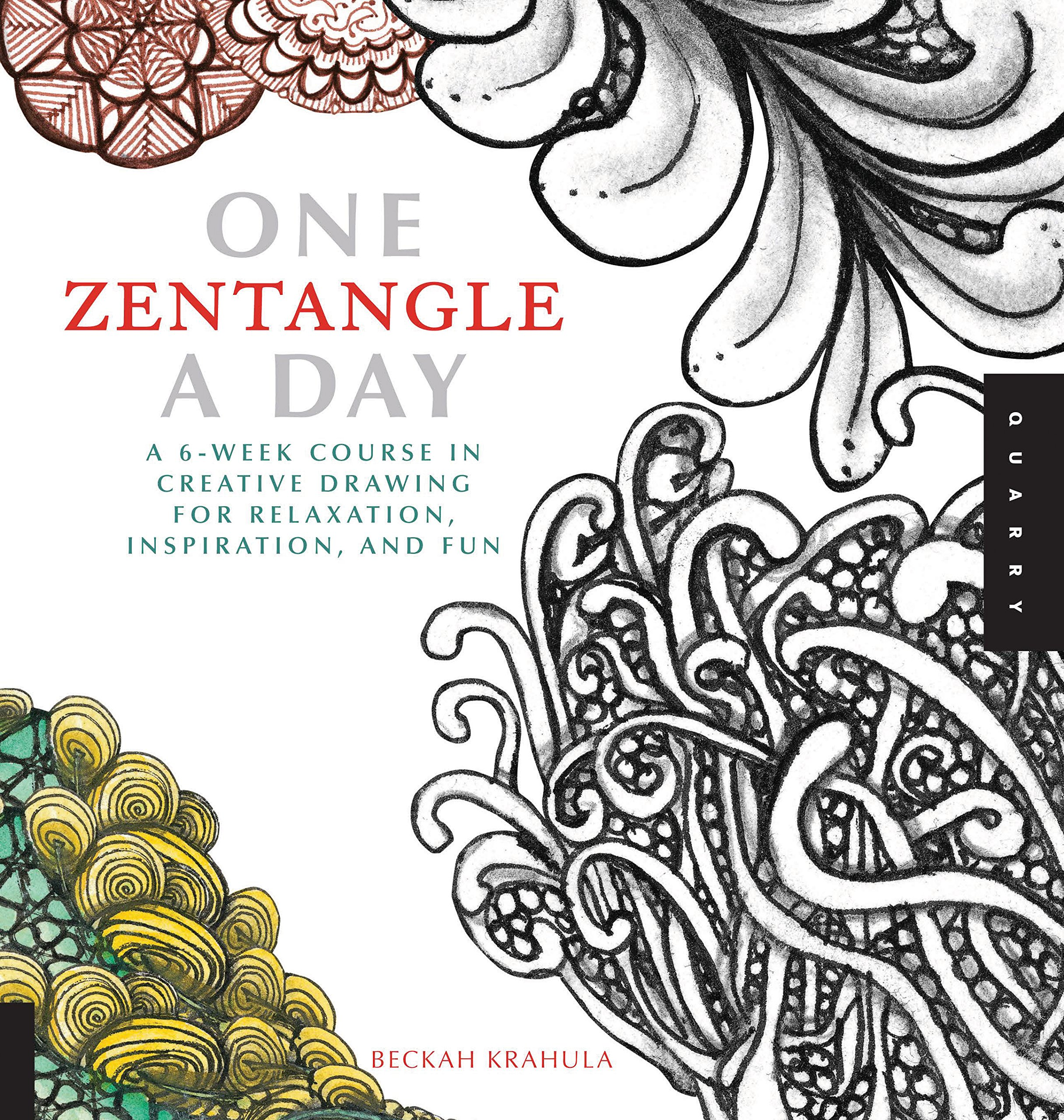 Amazon One Zentangle A Day A 6 Week Course In Creative Drawing