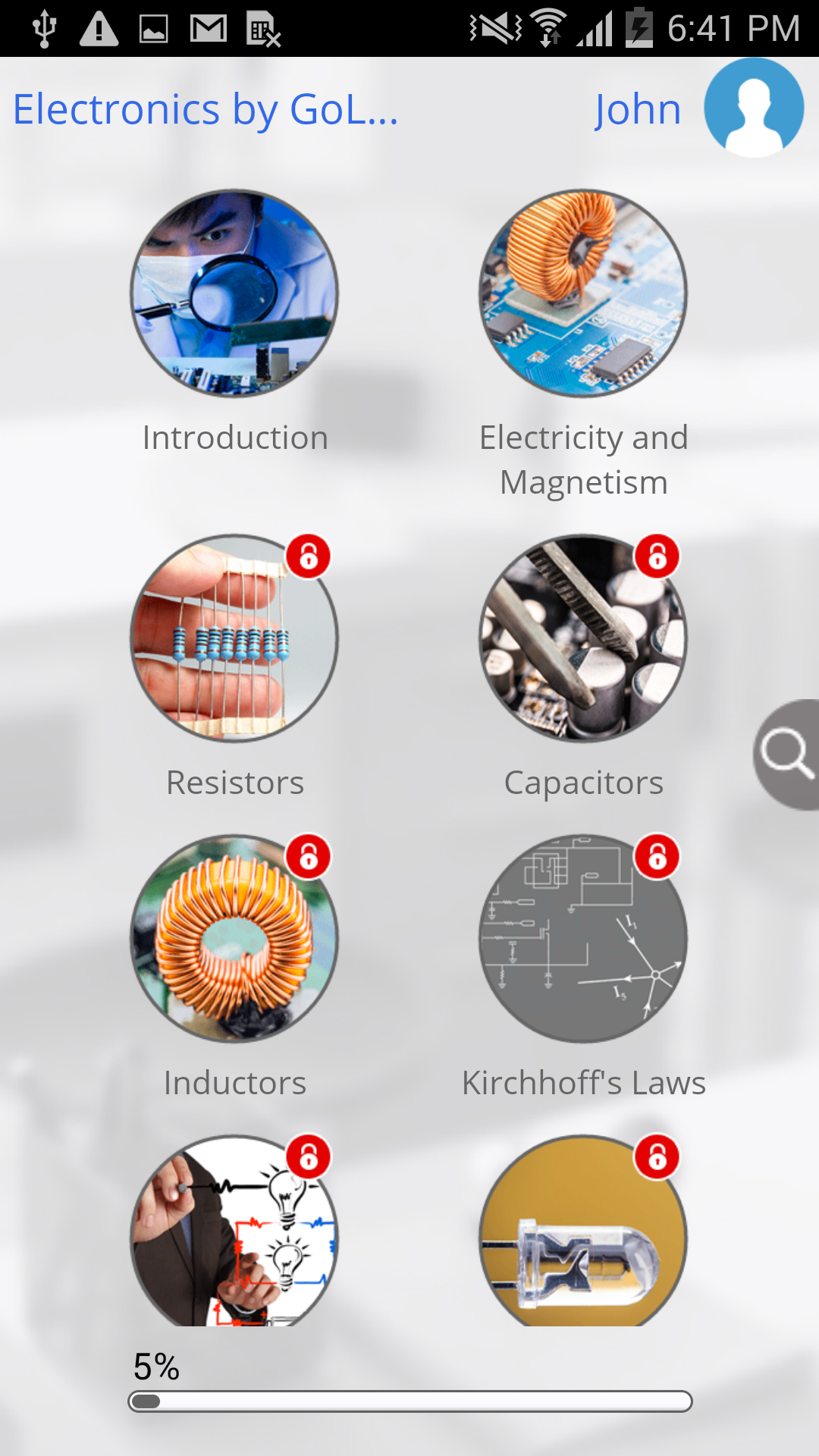 Learn Electronics By Golearningbus Appstore For Android Fundamentals Inductors 101 Electronic Products