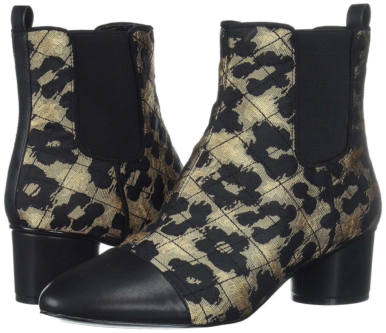 Nine West Women's Interrupt Ankle Boot B06WP5D84V 8.5 B(M) US|Natural Multi Fabric
