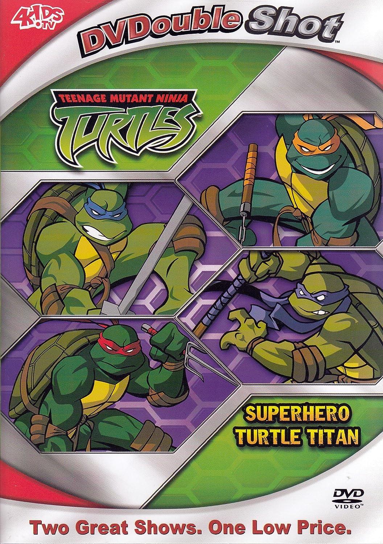 Teenage Mutant Ninja Turtles: Superhero Turtle USA DVD ...