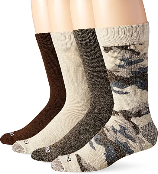 DICKIES Wool Boot Socks Work Cushion Sock Men/'s Large Moisture Wicking NEW 4