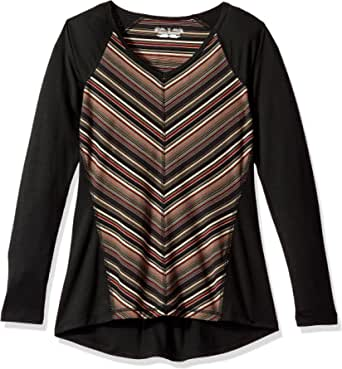 ROYAL ROBBINS Women's Essential Tencel Stripe V-Neck Tee