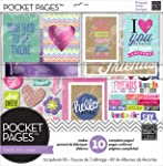 me & my BIG ideas SRK-700 Pocket Pages Kit de scrapbook Love my friends (Amo a mis amigos), 30.48 cm x 30.48 cm