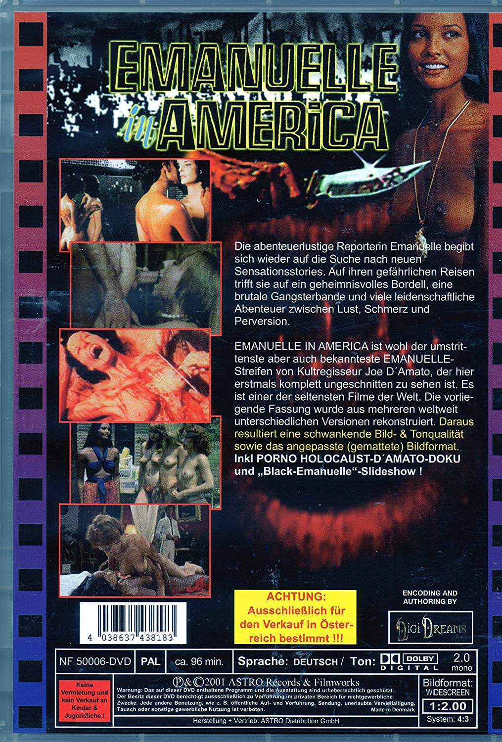 Emanuelle In America (German Language Only): Amazon.co.uk: DVD & Blu-ray