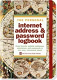 Old World Internet Address & Password Logbook