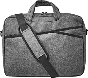 AmazonBasics Business Laptop Case Bag - 15-Inch, Grey