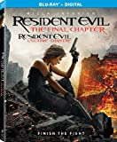 Resident Evil: The Final Chapter [Blu-ray] (Bilingual)