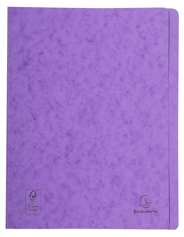 24x32 cm Grigio Exacompta 38989E Cartelle a Sistema