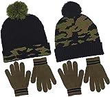 Polar Wear Boy's Digi-Camouflage Hat & Gloves Set