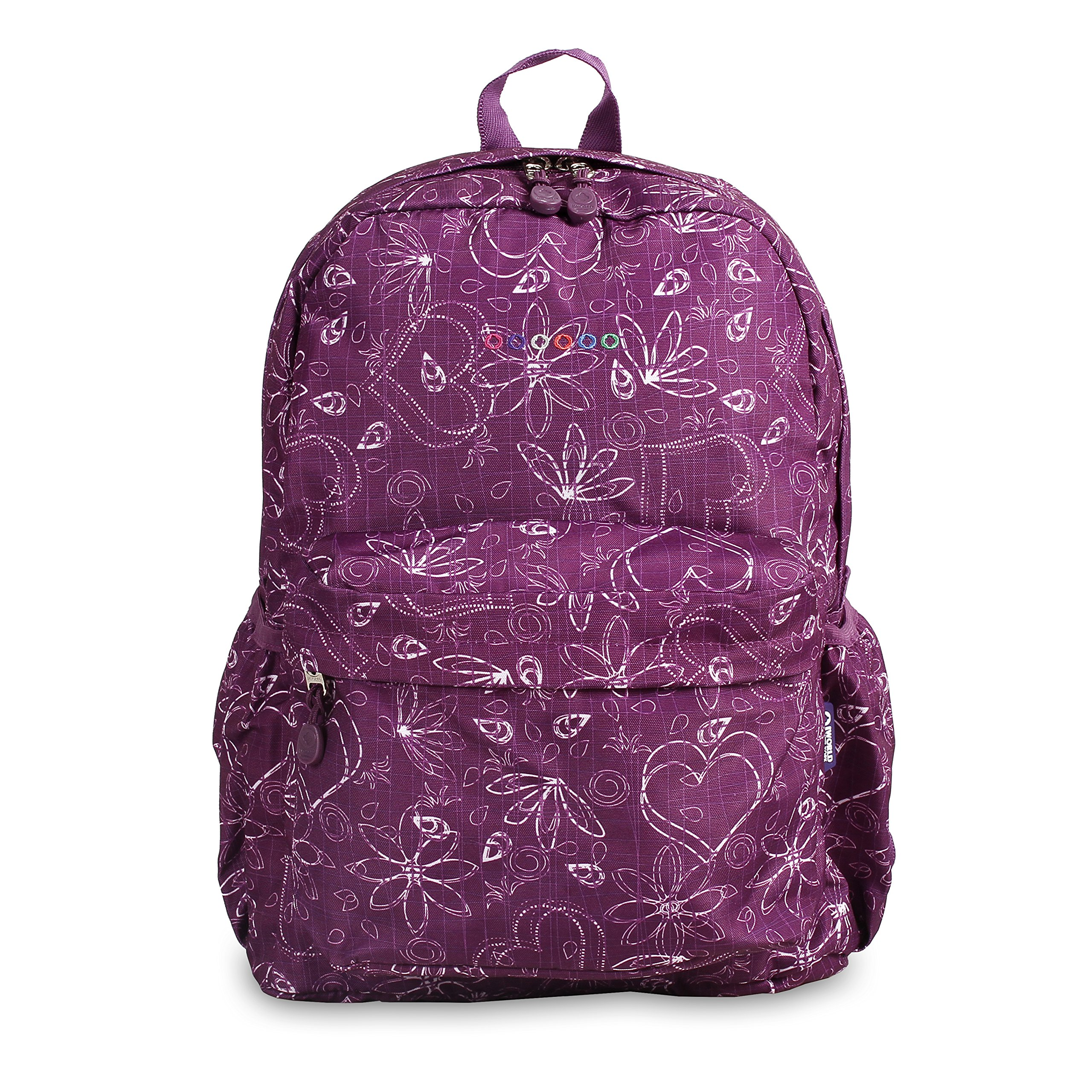 J World New York Oz Backpack, Love Purple by J World New York (Image #3)