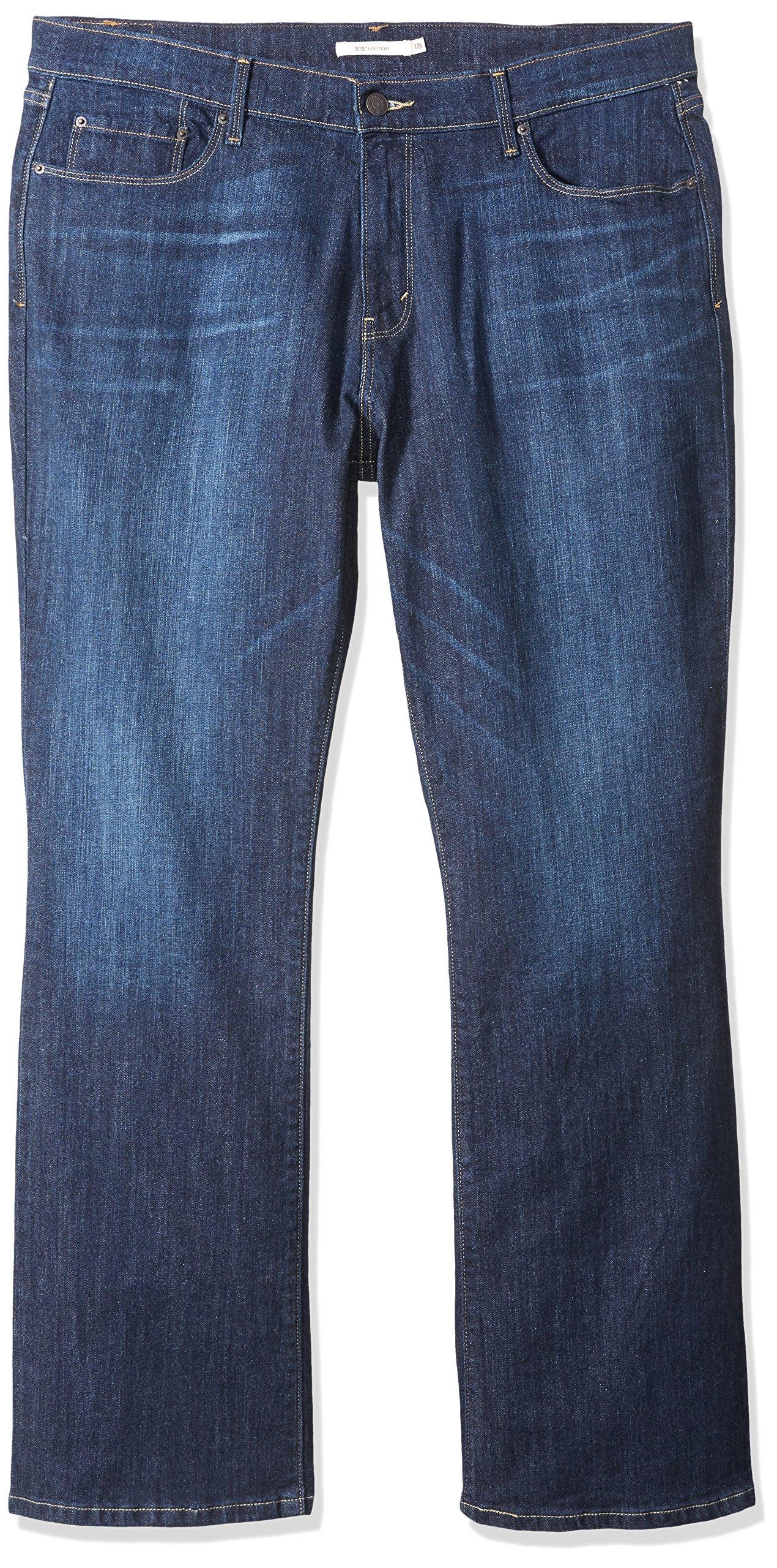 Levi's Women's 515 Bootcut Jean, Belle Blue, 34/18 Medium by Levi's