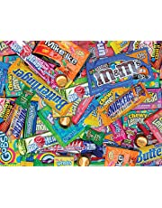 Springbok Puzzles - Sweet Tooth - 500 Piece Jigsaw Puzzle - Large 23.5 Inches by 18 Inches Puzzle - Made in USA - Unique Cut Interlocking Pieces