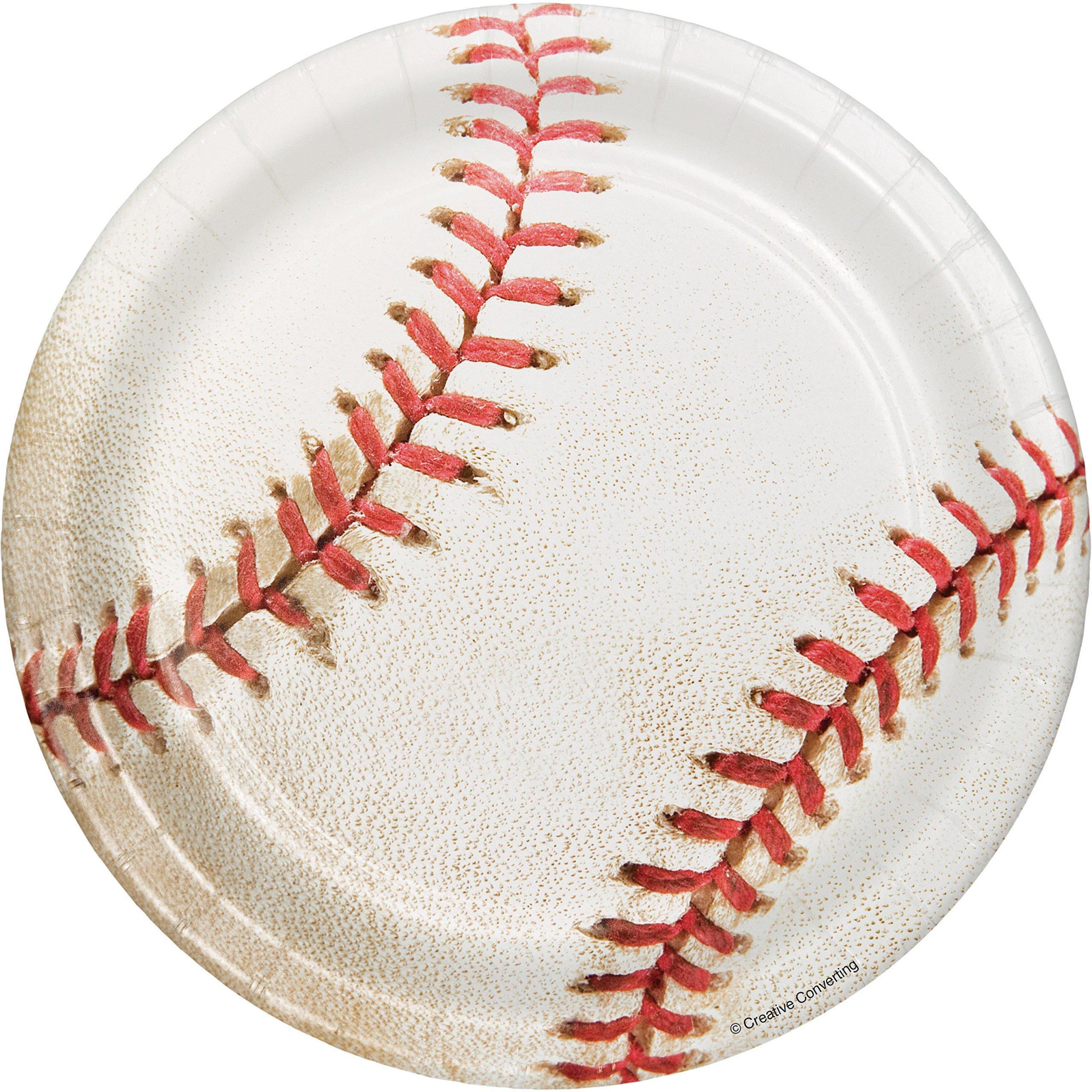 Baseball Dessert Plates, 24 ct by Creative Converting