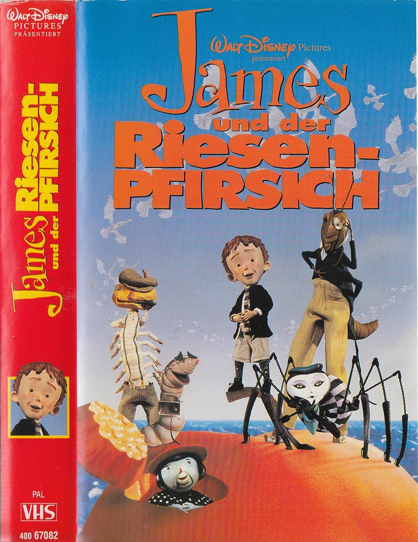 Amazon.com: James and the Giant Peach [VHS]: Paul Terry, Joanna ...