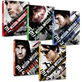 【Amazon.co.jp限定】ミッション:インポッシブル 1~5シリーズセット スチールブック仕様4K ULTRA HD [Blu-ray]