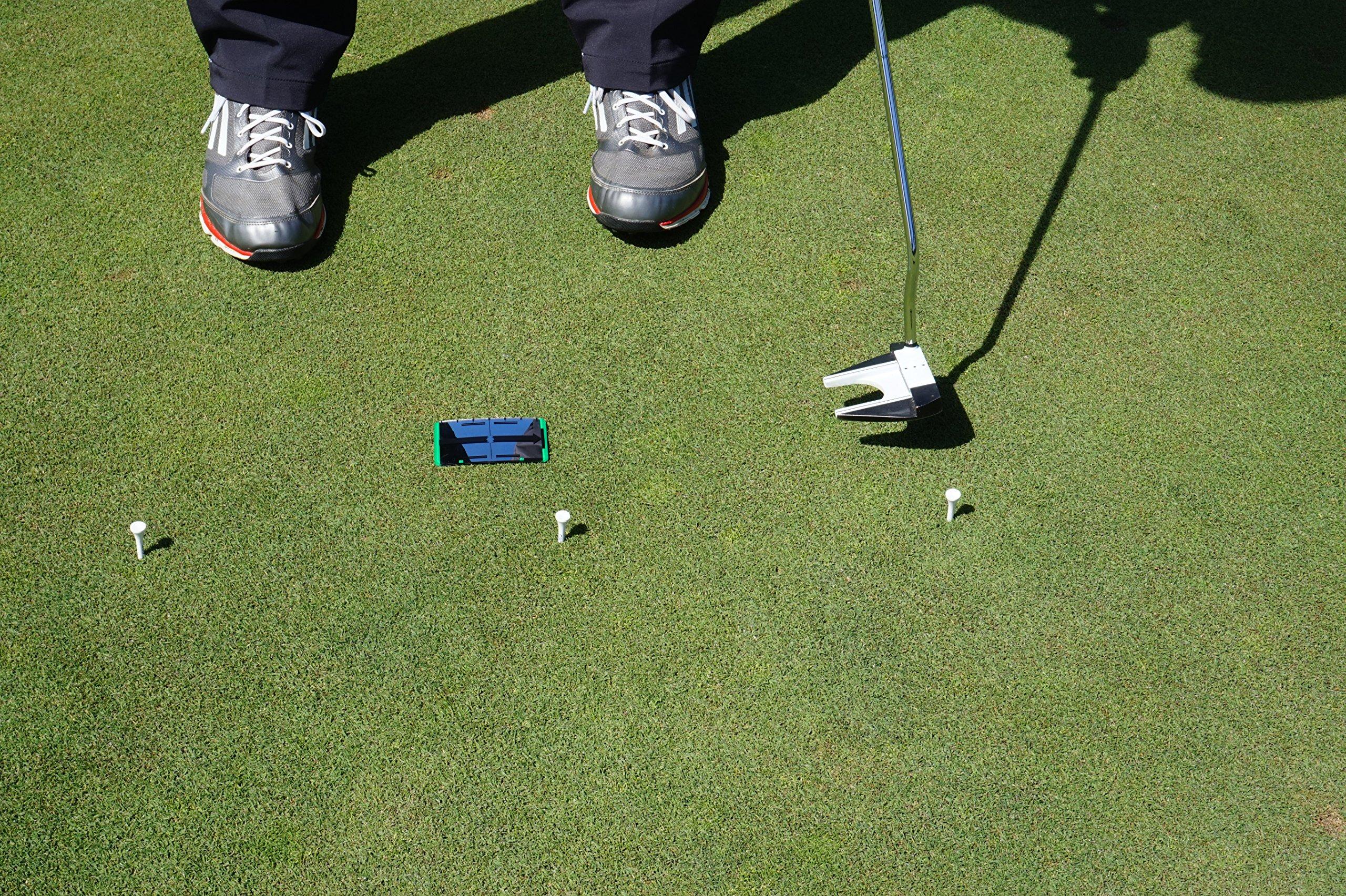 Pocket Putting Mirror Golf Alignment Training Tool
