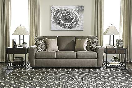 Amazon.com: Calicho Contemporary Cashmere Color Fabric Sofa ...