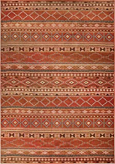 "product image for Orian Rugs Mardi Gras Zemmour Area Rug, 7'10"" x 10'10"", Red"