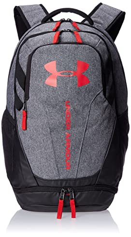 Under Armour Hustle 3.0 Backpack, Graphite/Black, One Size