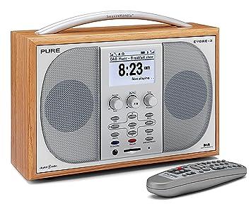 pure evoke 3 portable stereo dab fm radio with epg and recording rh amazon co uk Operators Manual Instruction Manual Book