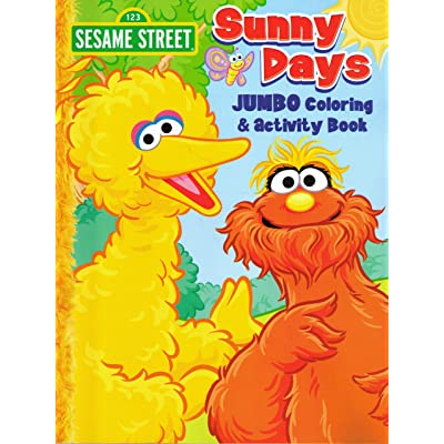 Sesame Street Coloring & Activity Book (Cover Art and Activities vary): Unknown: Toys & Games
