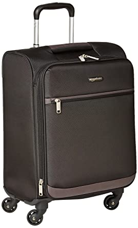 Amazon.com: AmazonBasics Softside Spinner Luggage - 21-inch, Carry ...