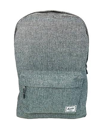 88d60288cd6 Herschel Classic 22 Litre Backpack Unisex Raven X Crosshatch  Amazon.co.uk   Clothing