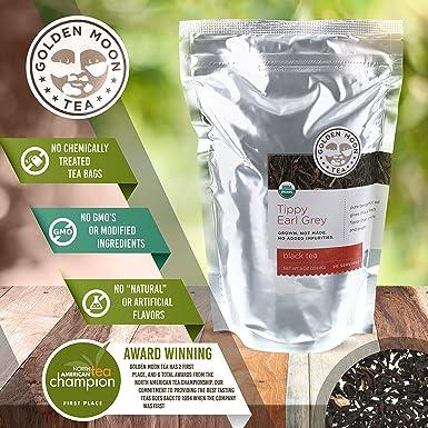 Té orgánico, hojas sueltas, a granel, sin OMG ...