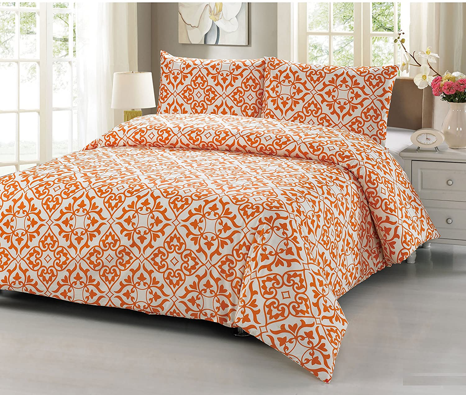 covers multi pillow dsc mandala orange bedding boho with hippie bedspread blue green index duvet