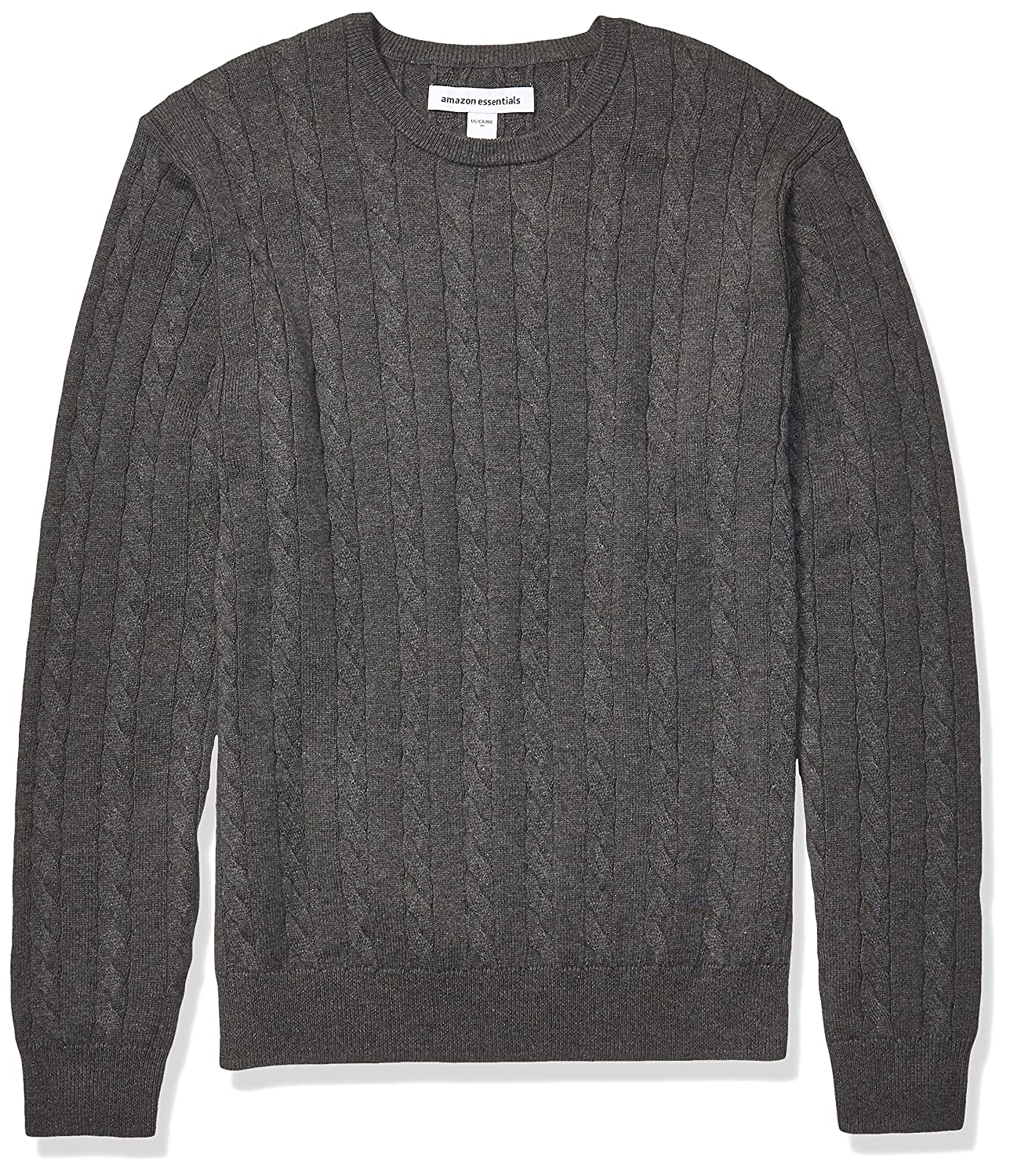 Essentials Crewneck Cable Sweater Uomo