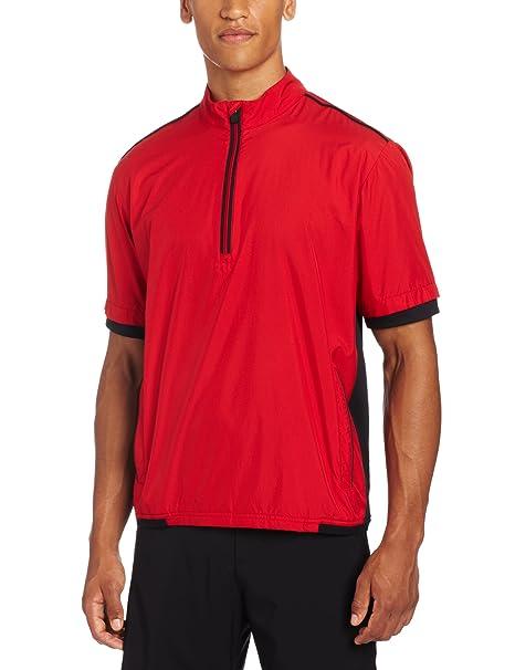 15f7d382cfb57 adidas Golf Men's Climaproof Stretch Wind Short Sleeve Jacket