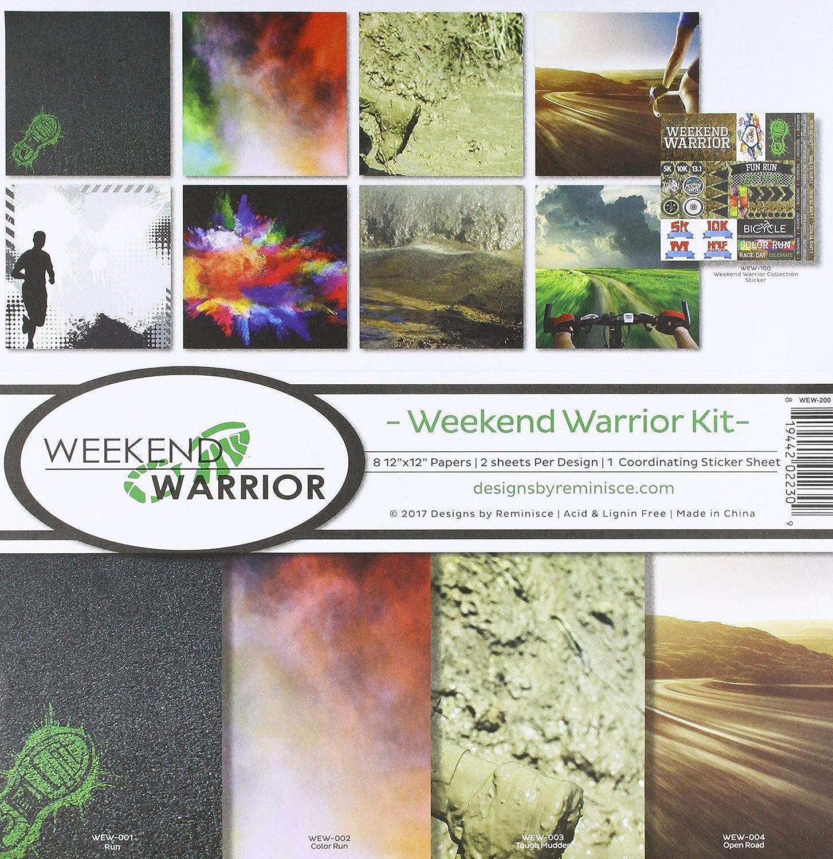 Reminisce Weekend Warrior Scrapbook Collection Kit