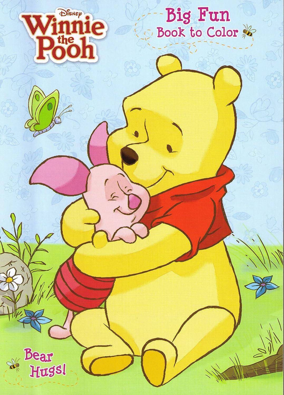 Amazon.com: 4pk Disney's Winnie The Pooh Coloring Book 96 Page