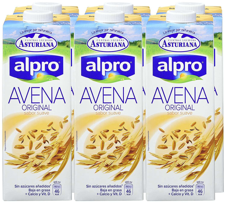 Central Lechera Asturiana Bebida de Avena - Paquete de 6 x 1000 ml - Total 6000 ml: Amazon.es: Amazon Pantry