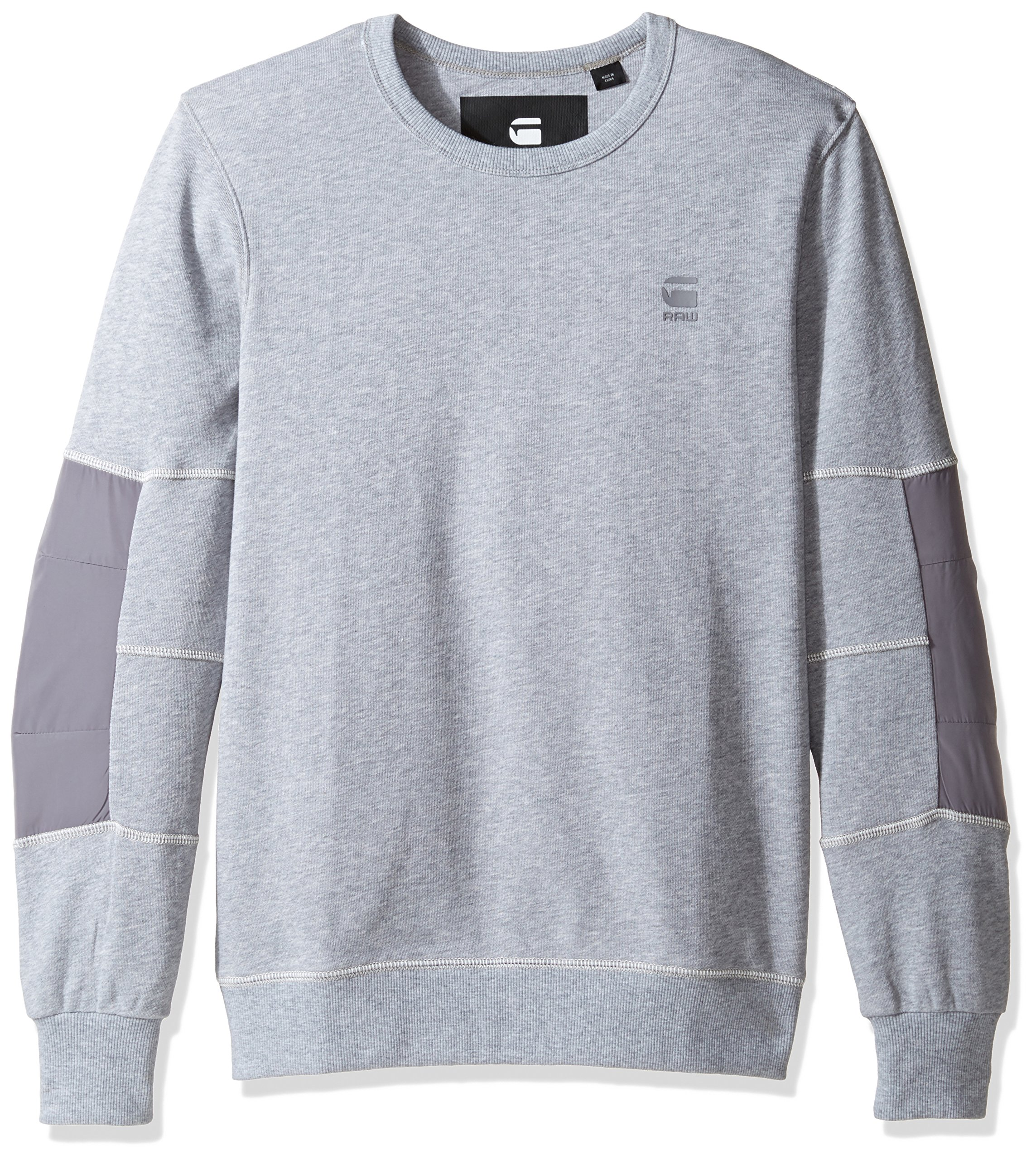 G-Star Raw Men's Rackam R SW L/s, Grey Heather, Large
