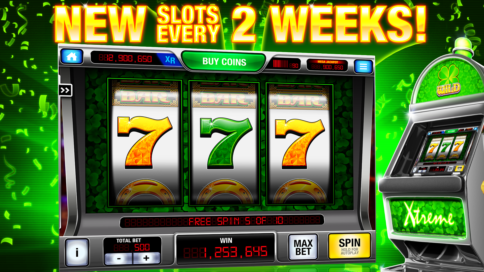 Amazon Com Xtreme Vegas 777 Classic Slots Appstore For Android