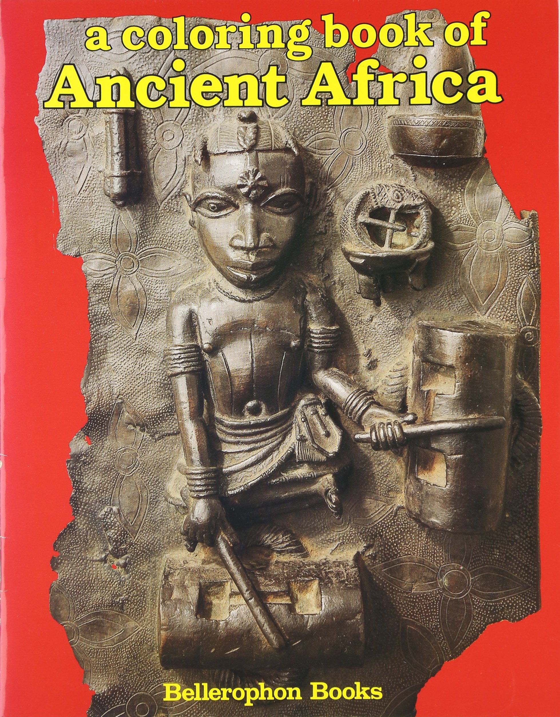 Coloring Book of Ancient Africa: Bellerophon Books: 9780883880906 ...