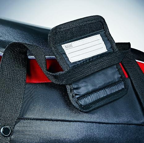 Samsonite bagages 55,9cm Andante Sac de voyage à, Black/Red (Noir) - 48825