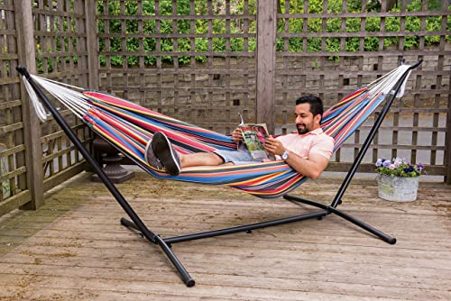 How to Set Up a Hammock with a Stand?