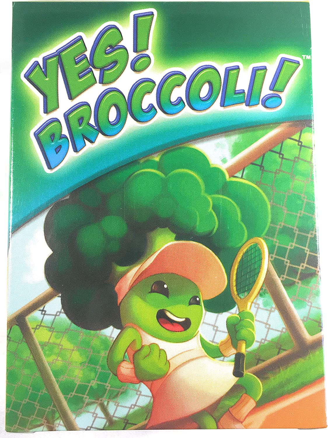 Yes! Broccoli! Card Game - Family Friendly Educational Food & Nutrition Game for Kids & Adults