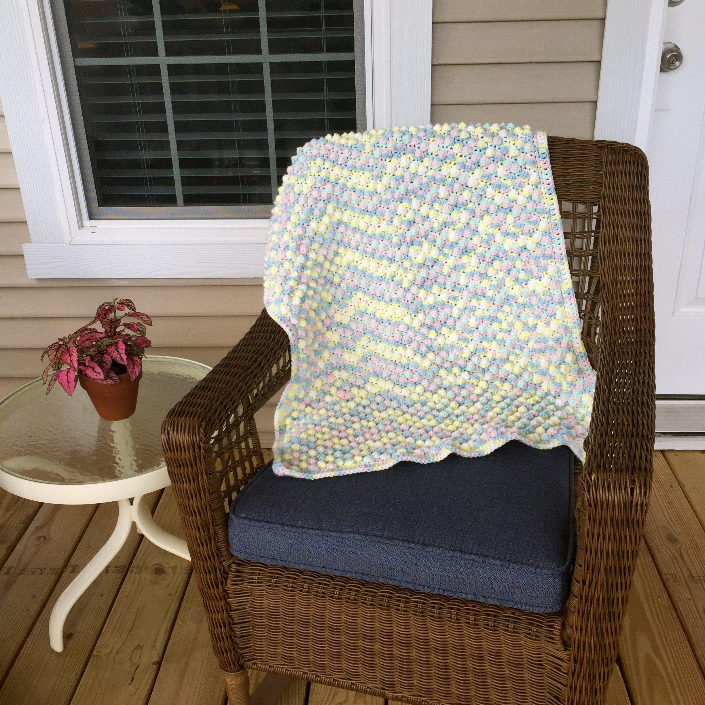 Crochet Bubble Baby Blanket