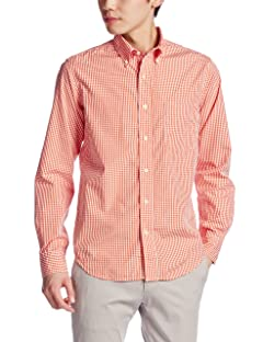 Sero Gingham Broadcloth Buttondown Shirt SHI002A04-15F