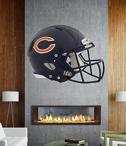 Amazon.com  Chicago Bears Helmet sticker 6aaf8c194